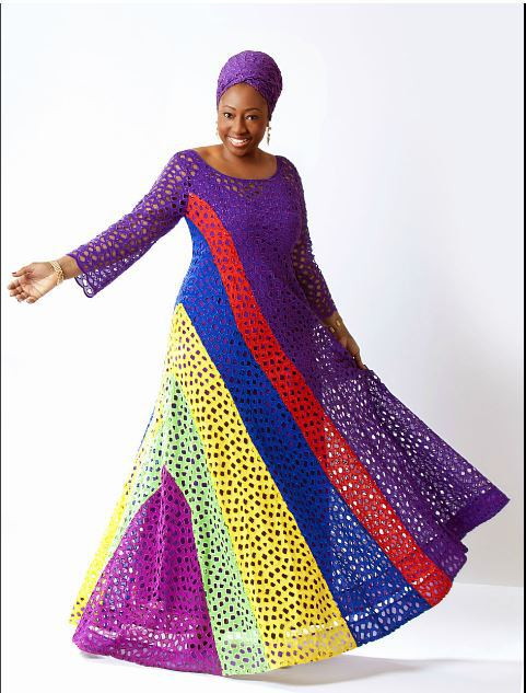 Senegalese gown styles