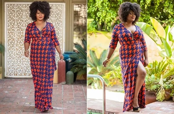 plus size kitenge dresses