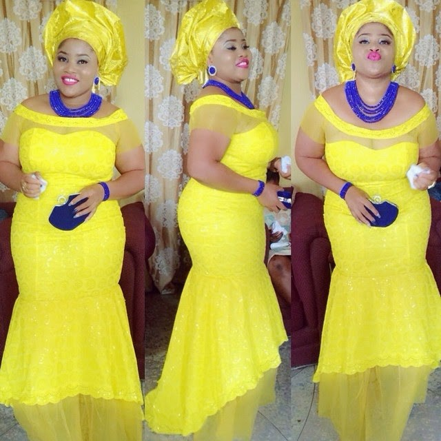 plus-size Ankara gowns