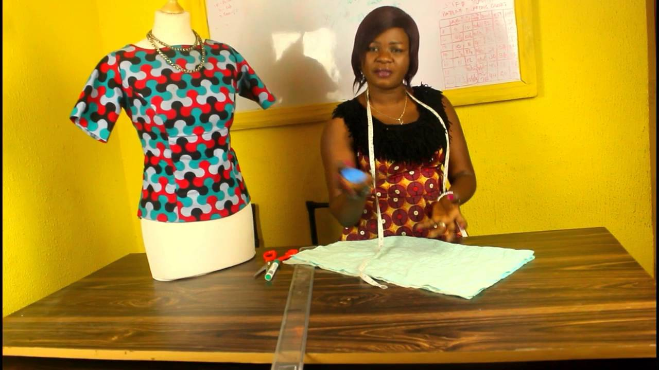 how to sew a gown step by step