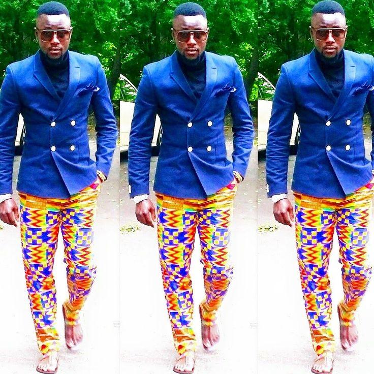 Kente men fashion