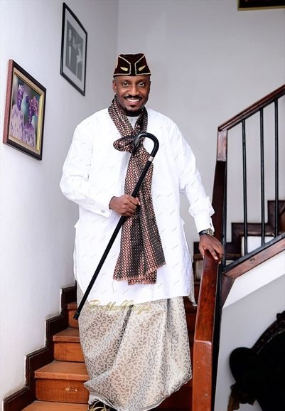 Ibibio male traditional attire