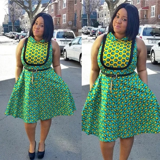 Ankara dresses for plus size ladies