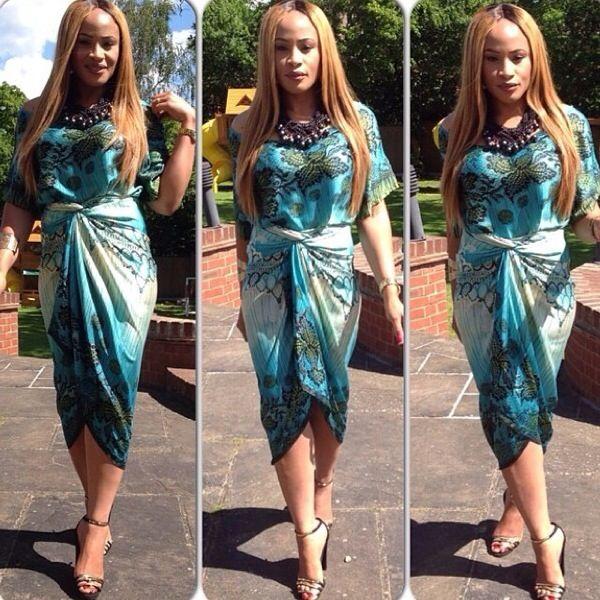 Nigerian chiffon gown styles