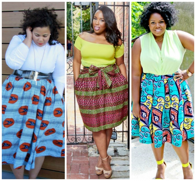 Ankara styles for chubby ladies