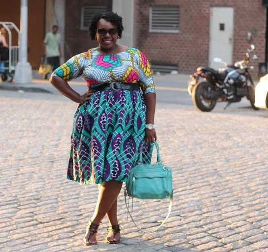 Ankara styles for big tummy