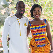 Kente styles for traditional marriage