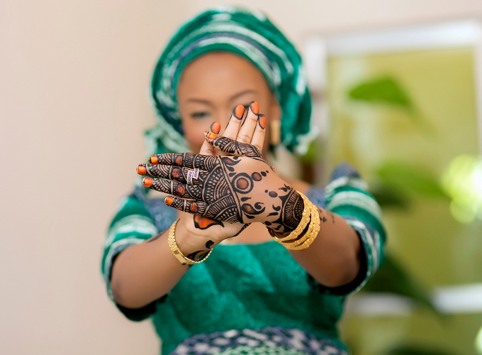 Hausa styles for wedding