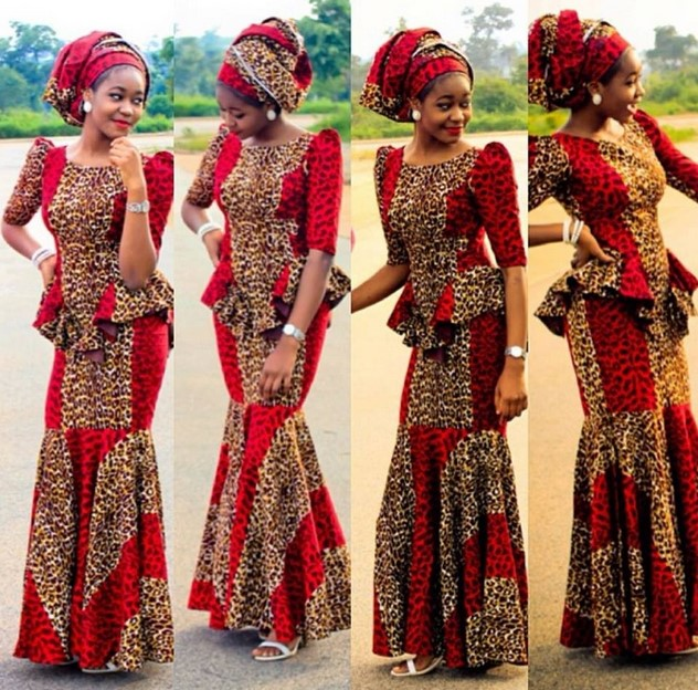 Hausa fashion dress