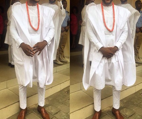 Agbada and embroidery