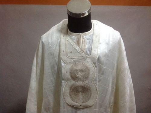 white agbada designs