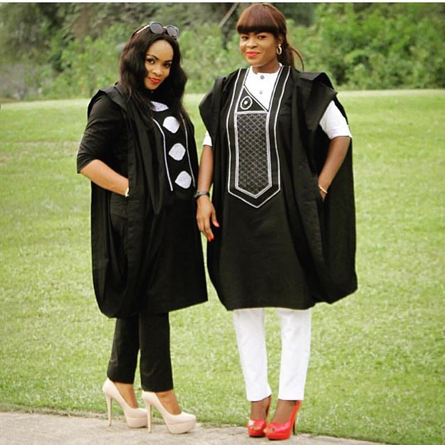 Nigerian embroidery dresses