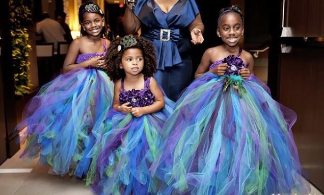 Nigerian little bride dresses