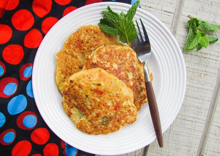 Savory Nigerian pancakes