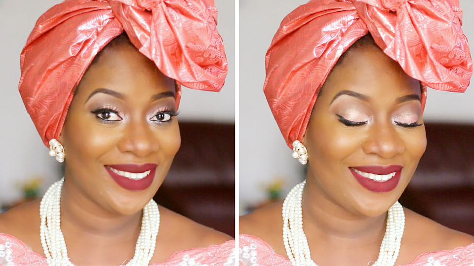 Steps on how to tie Rose Gele