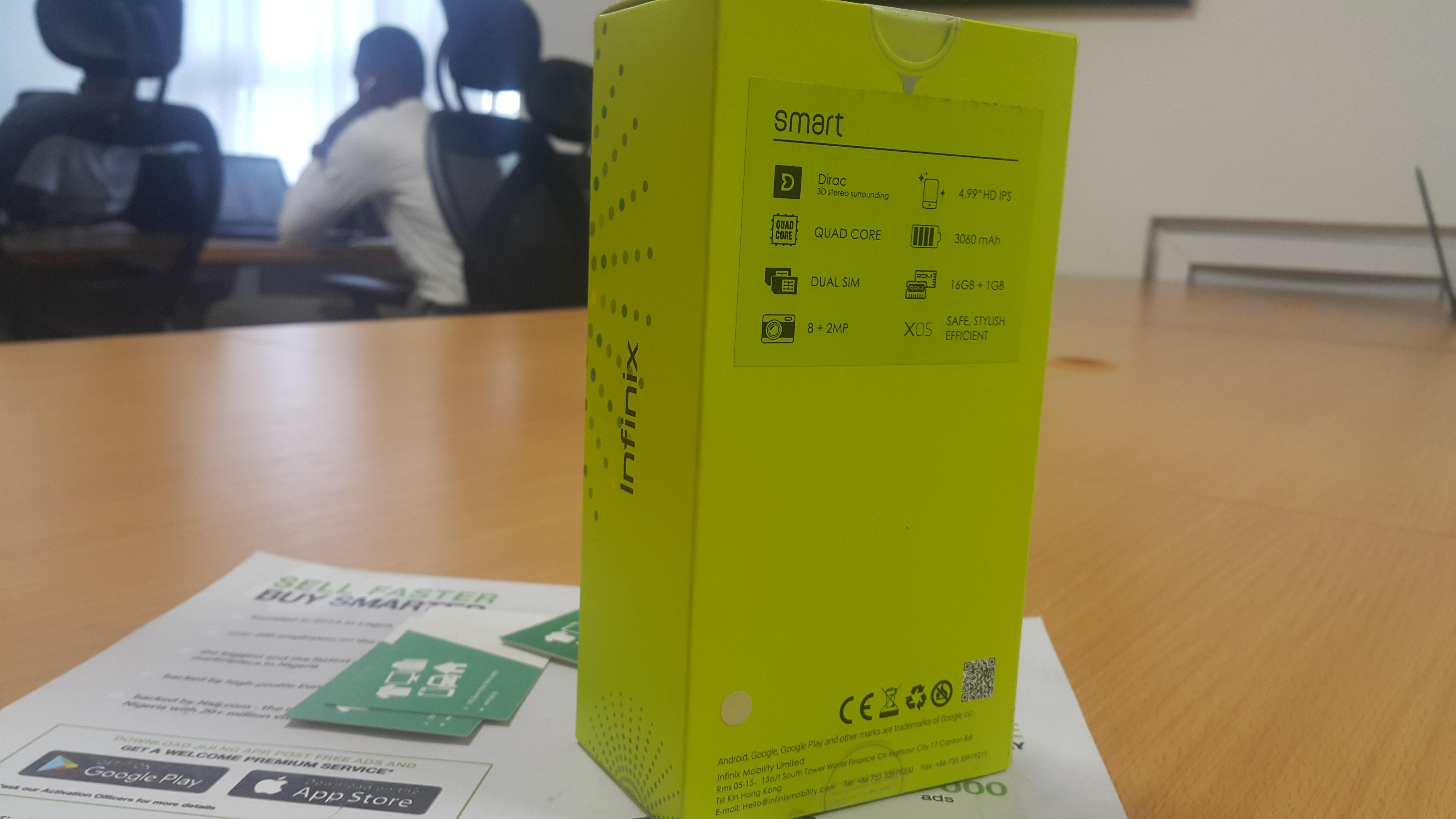 Infinix Smart price in Nigeria