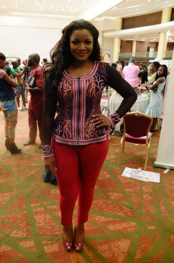 Omotola Jalade casual styles