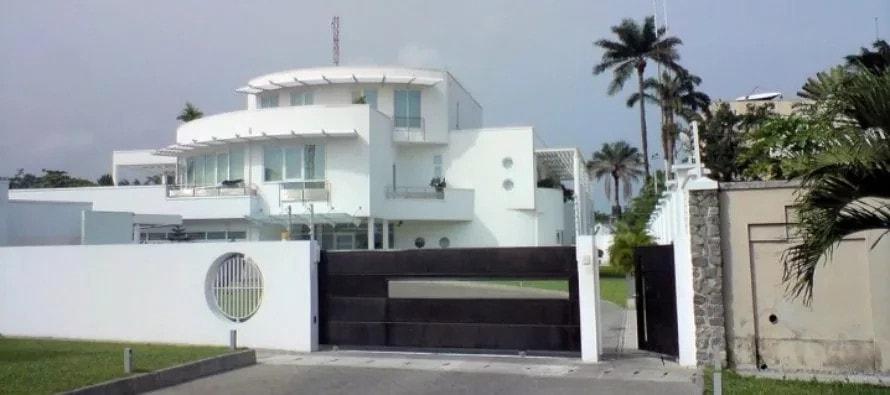 Femi Otedola's Ikoyi house
