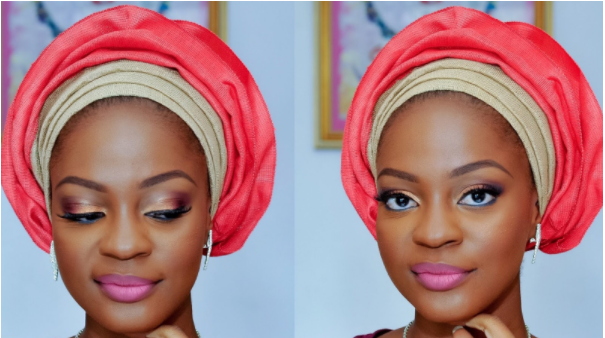 How to tie small gele