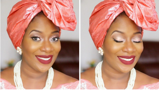 How to tie take-a-bow gele