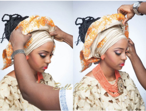 How to tie knot gele