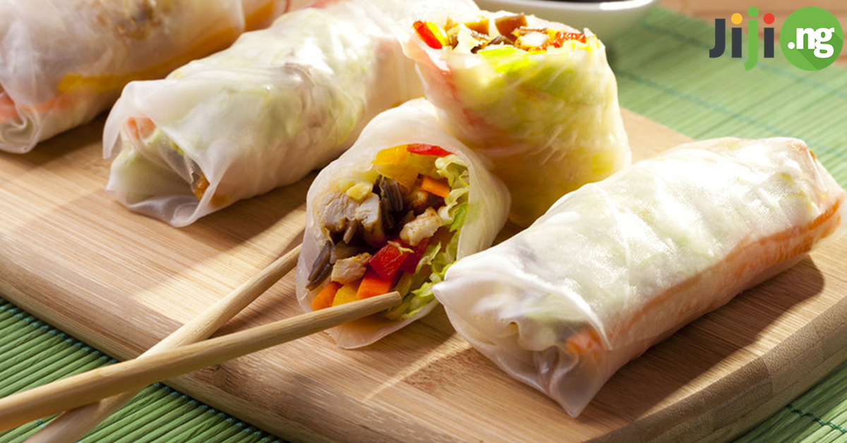 How to prepare spring rolls
