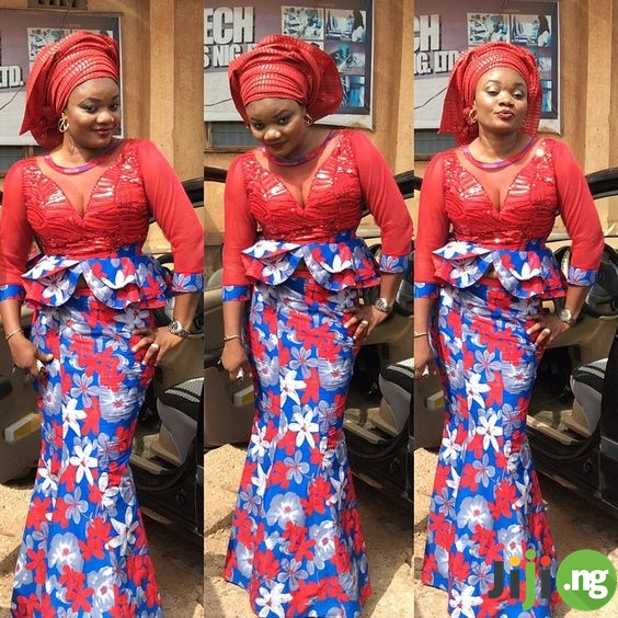 ankara styles with sequence