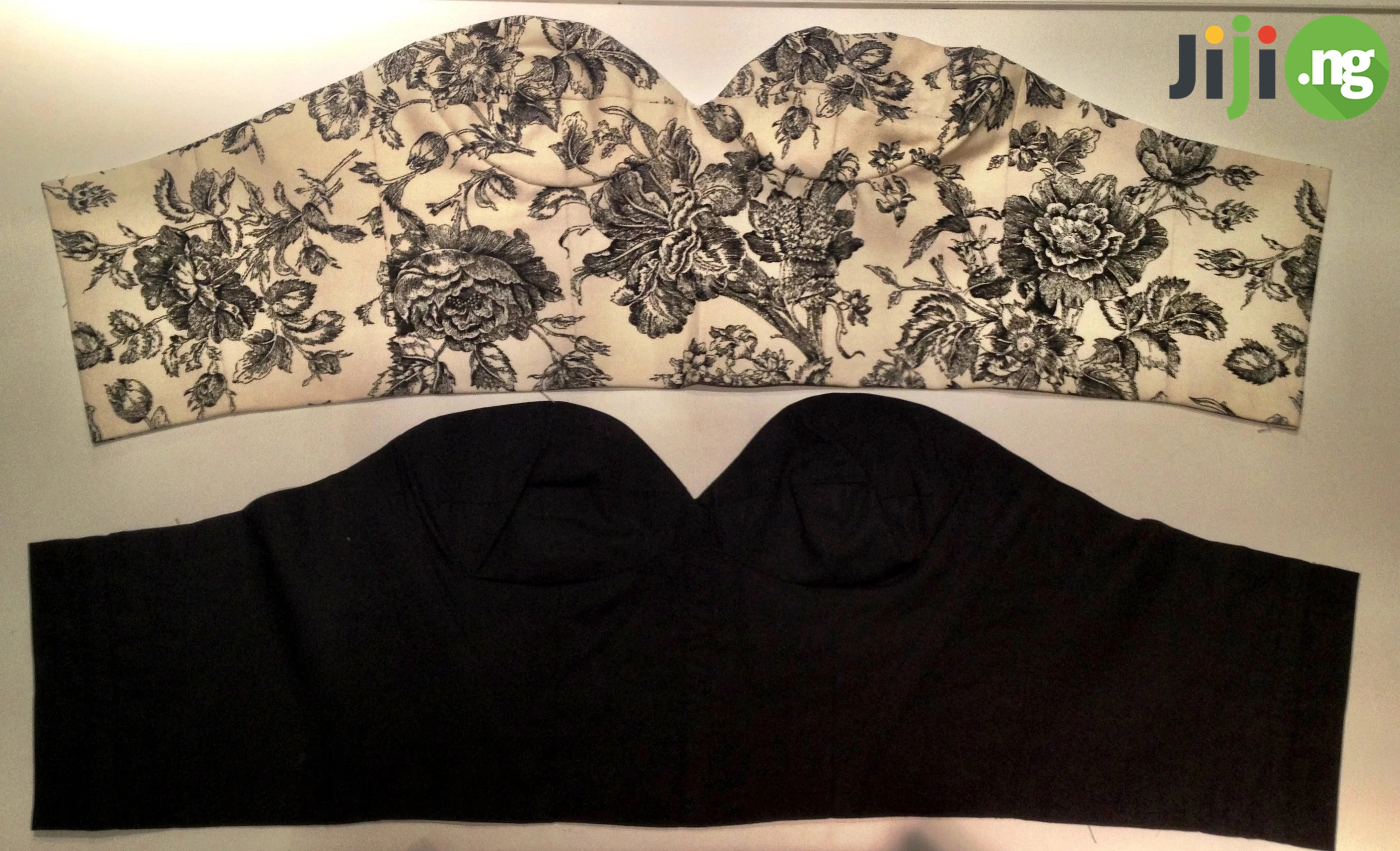 how to cut and sew bustier blouse