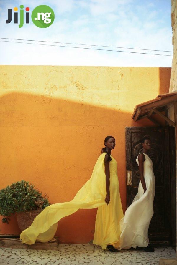 Nigerian chiffon dress styles