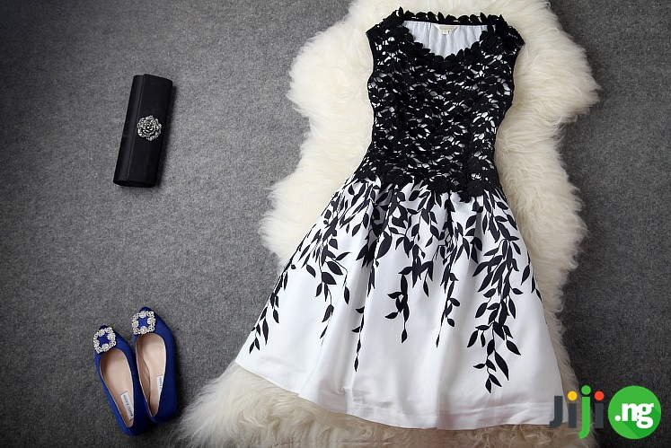 black and white dresses