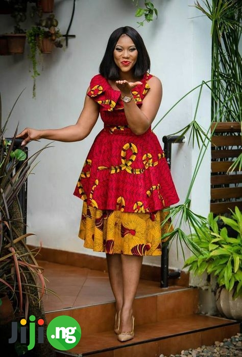 mix and match kitenge dresses