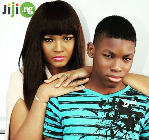 omotola jalade children