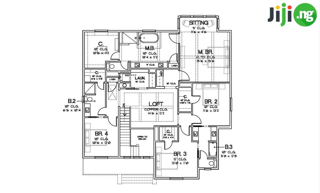 4 Bedroom Bungalow House Design In Nigeria House Decor Interior