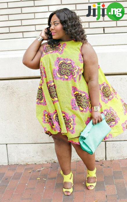 Ankara styles for big ladies