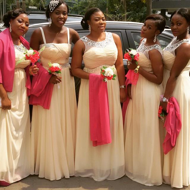 Bella Naija Bridal Train Dresses: 20 Fresh Styles