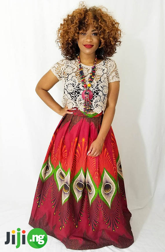 ankara skirt and blouse 2018