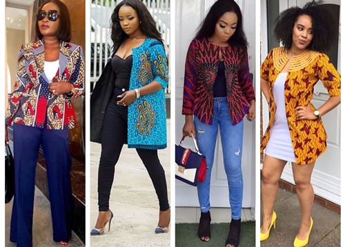 Latest Ankara jackets