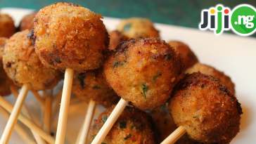 small chops and cocktails