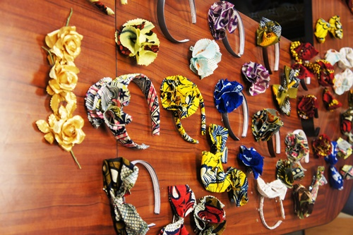 Ankara hair accessories