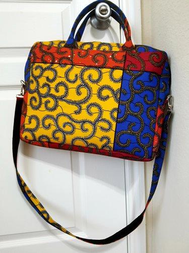 Ankara laptop bags
