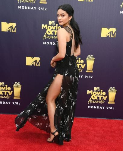 Camila Mendes MTV Movie And TV Awards Red Carpet