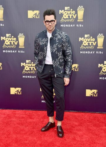 Dan Levy MTV Movie And TV Awards Red Carpet