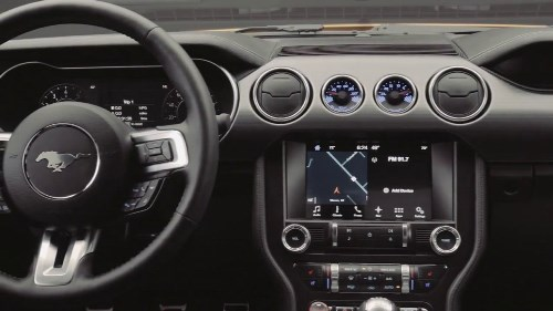 ford mustang 2017 cabin