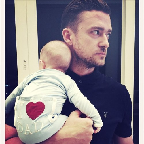 Justin Timberlake fathers day