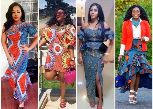 latest ankara short gown styles