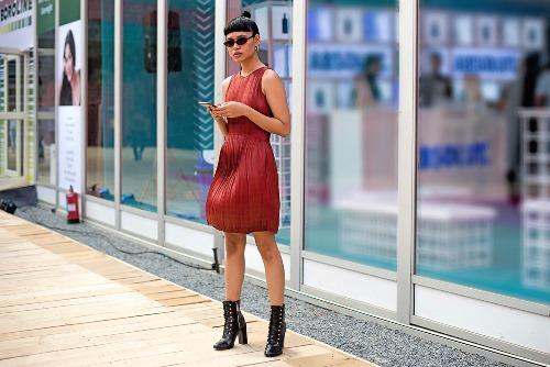 ankara short dress styles