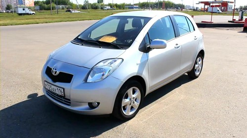 2008 Yaris review