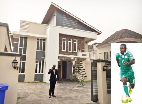 victor moses house in nigeria