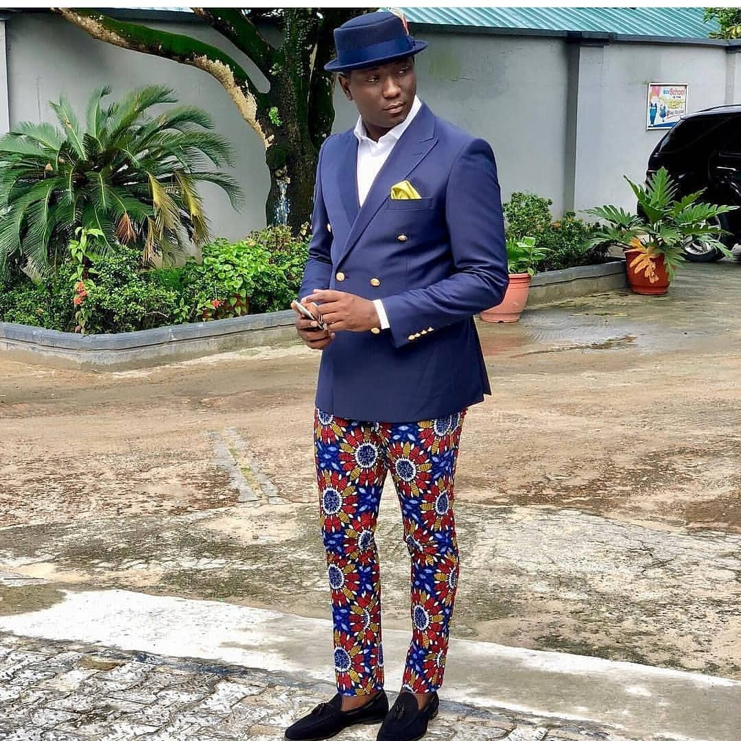 latest male ankara fashion