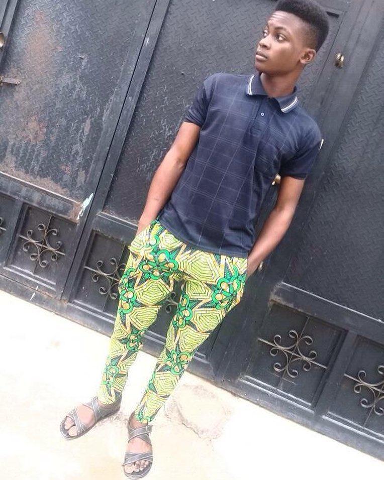 trendy male ankara styles